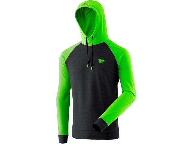 Dynafit Hættetrøje Herrer, sort/grøn